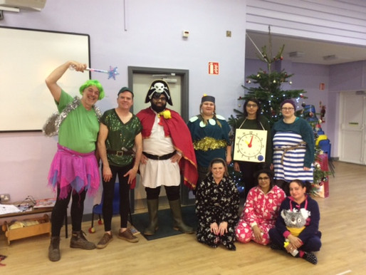 Our annual Deaf Panto was a great success! The children loved watching 'Peter Pan' and were transfix