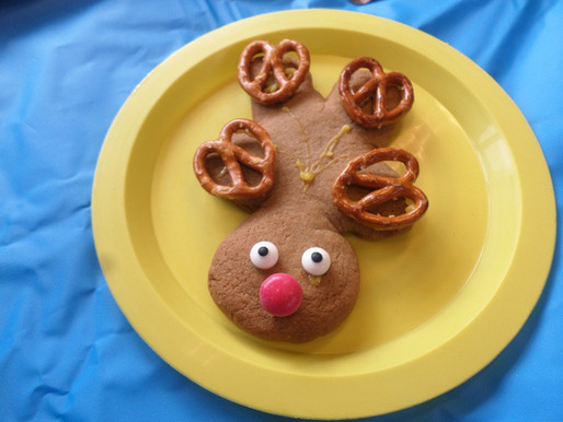 Foundation pupils (Bears Class) enjoyed turning gingerbread men into reindeers!