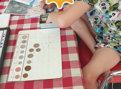 A Y4 Penguins pupil learns more about money
