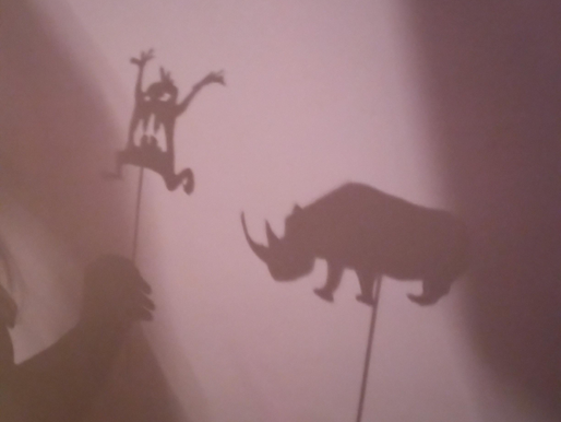 Year 6 have been exploring their science topic Light and Shadows
