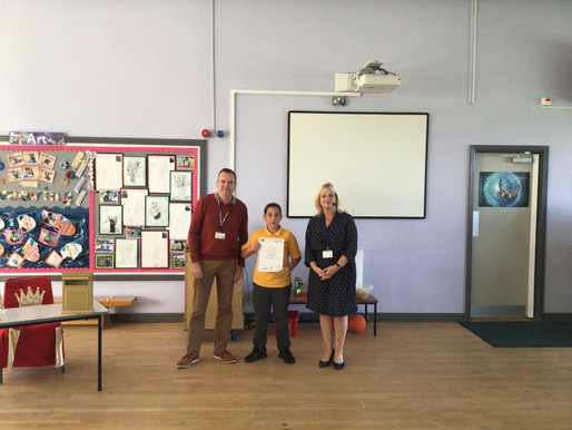 We are so proud of this Y6 pupil who has passed his BSL Level One qualification! Congratulations!