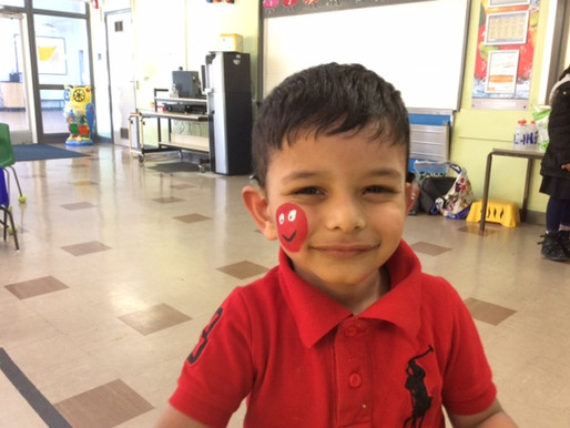 Red Nose Day activities were enjoyed by all!