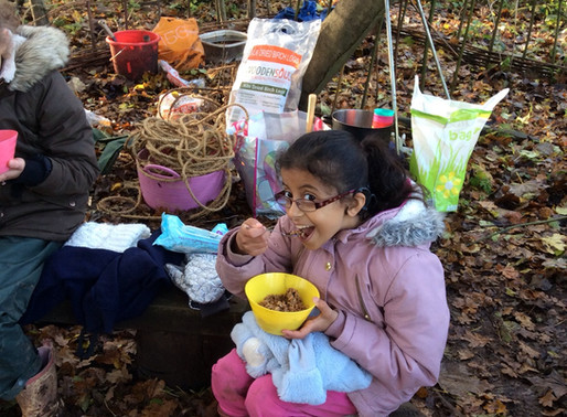 Y4 always love Forest School.