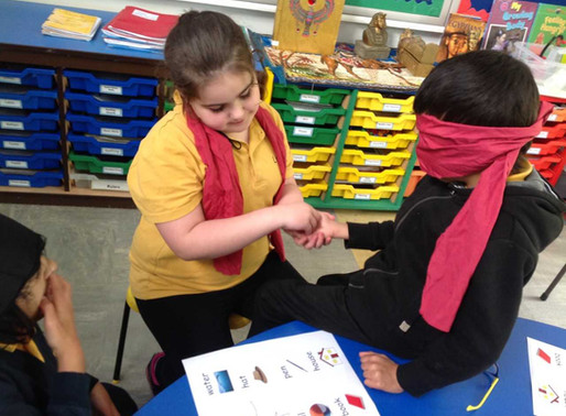 To celebrate Deaf Awareness Week 2019, Year 4 learned about the life of the Deafblind.