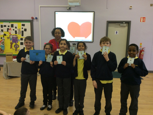 Rowan Class (Y5) are our Attendance winners of the week!