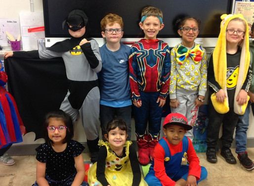Year 2 Puffins had a fantastic time raising money for Children in Need on Friday.