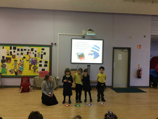 Pupils shared their online safety knowledge during our Safer Internet Day 'show and tell' as