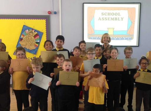 Congratulations to all our pupils who achieved their individual attendance awards! Thank you to all.