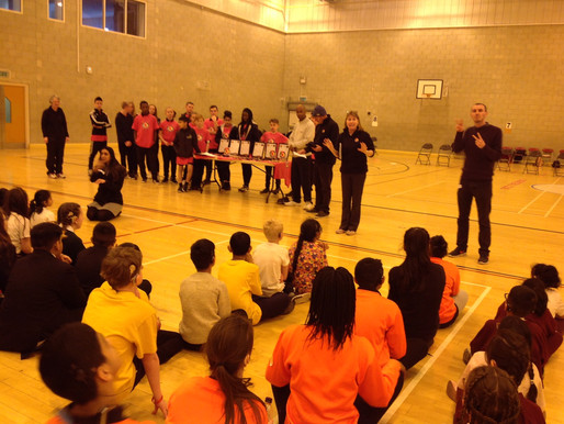Year 6 and Y5 pupils had a wonderful day at the Boccia competition.