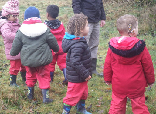Foundation Swans had a wonderful time in Forest School.