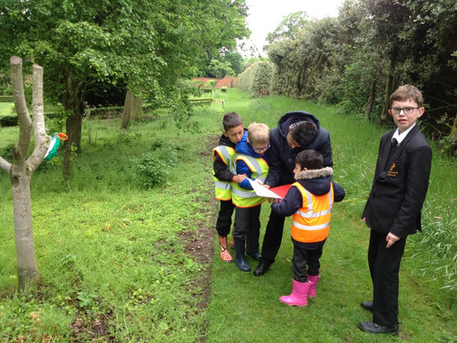 Years 1 and 2 went to 'Takeover Birmingham', which was organised by Braidwood School Year 9