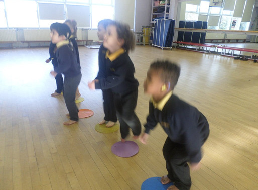 Foundation Swans have been watching some beautiful ballet and then creating a dance of their own