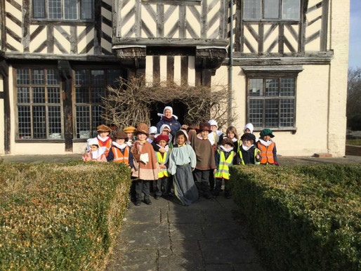 Years 1 and 2 visited Blakesley Hall to learn all about the Great Fire of London. The children had a