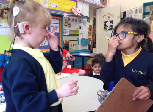 Year 4 have been practising collecting data in maths. They visited Foundation...