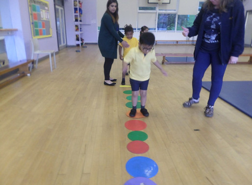 Foundation Swans class have had a fantastic time in PE learning to move in different ways.