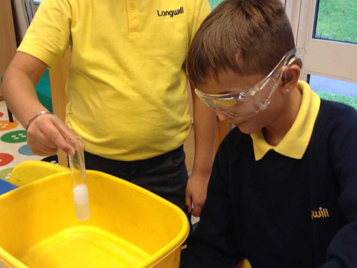 More fun and learning in Friday's STEM Club. Who knew that mixing vinegar and baking soda togeth
