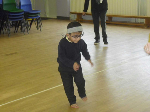 Foundation (Lily class) have been having a wonderful time practising their skipping in dance. Rights