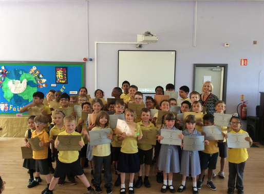 Congratulations to pupils whose attendance was above 95% this year! Well done!