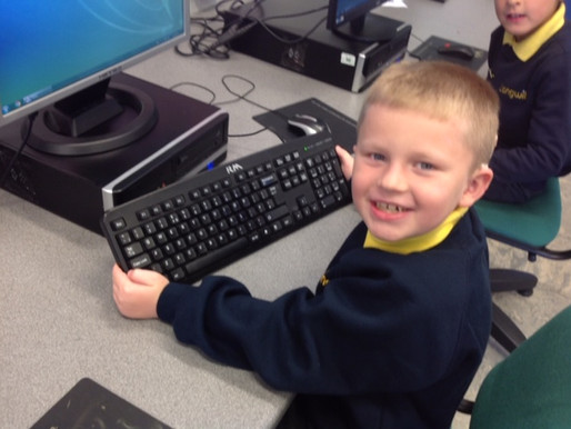 Y3 (Freesia Class) have learned the vocabulary associated with their computer