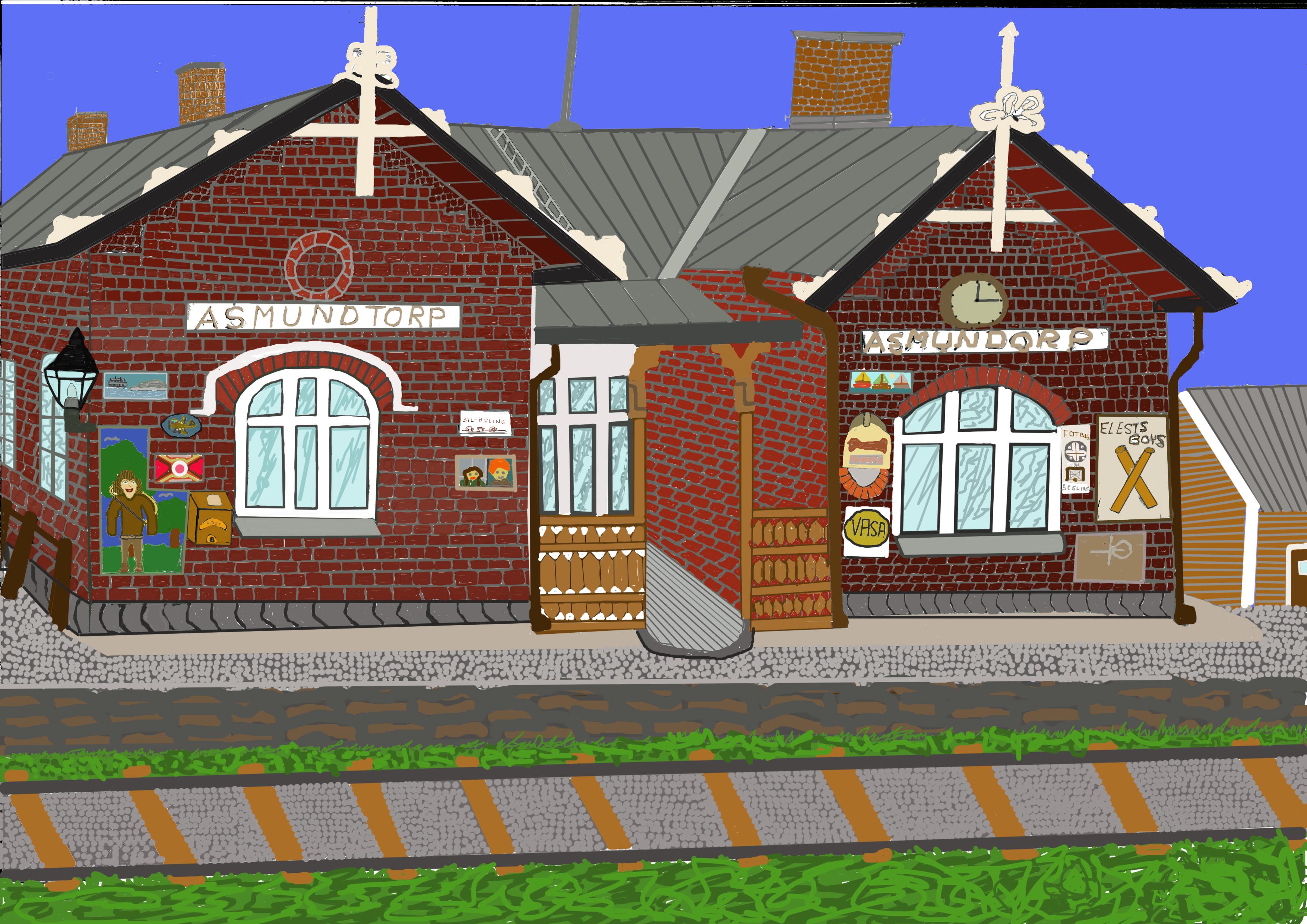 ÅsmundstorpStation