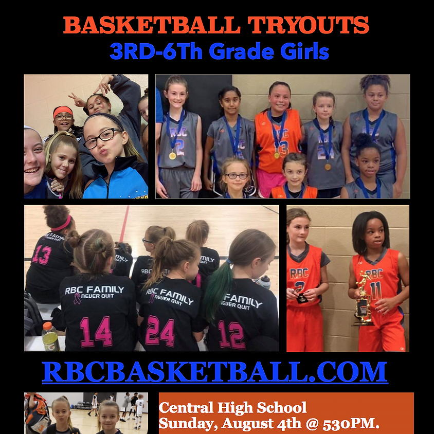 Girls Tryout 3rd-6th Grade