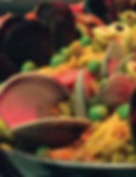 Paella at La Bodeguita del Medio Palo Alto