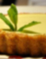 Key lime tart at La Bodeguita del Medio Palo Alto