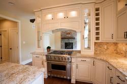 Kitchen with Pass Thru Cabinets