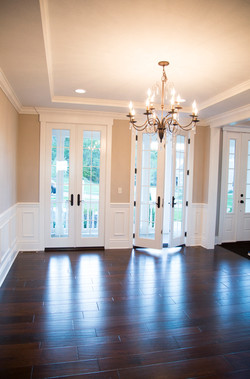 Dining Room with Walk Out Doors