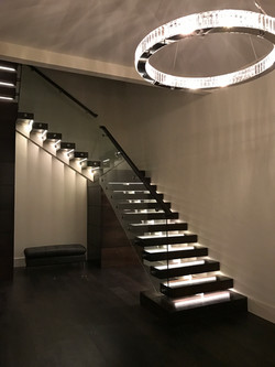 Stair Treads with Lights