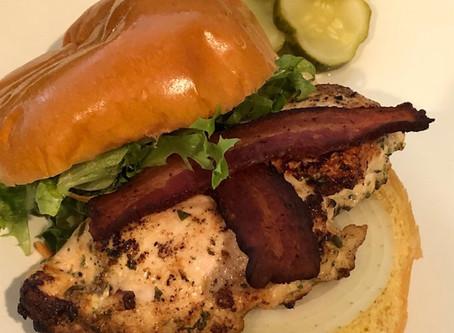Double Dip Ranch Chicken Club Sandwich