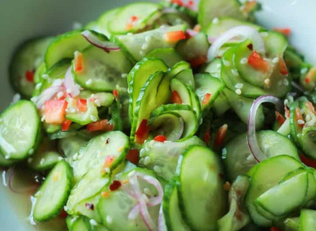 Cucumber Salad - the OG or Great Chicago Fire Way