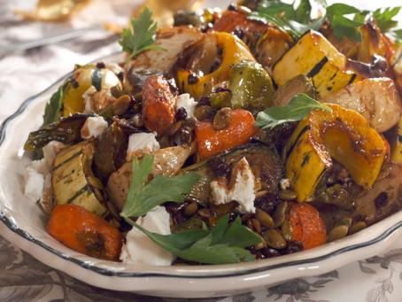 Eat Your Veggies Roasted Vegetable Salad