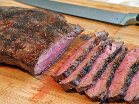 Rajun Cajun Flat Iron Steak