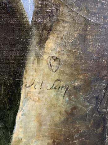 détail du serment d'amour