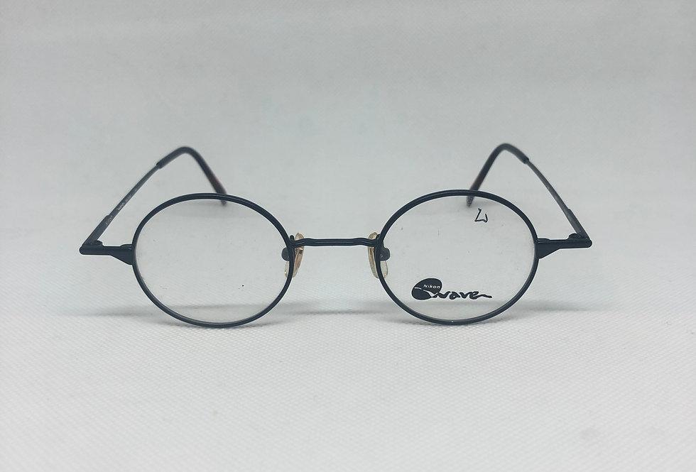 NIKON wave wa 7446 0005 145 vintage glasses DEADSTOCK