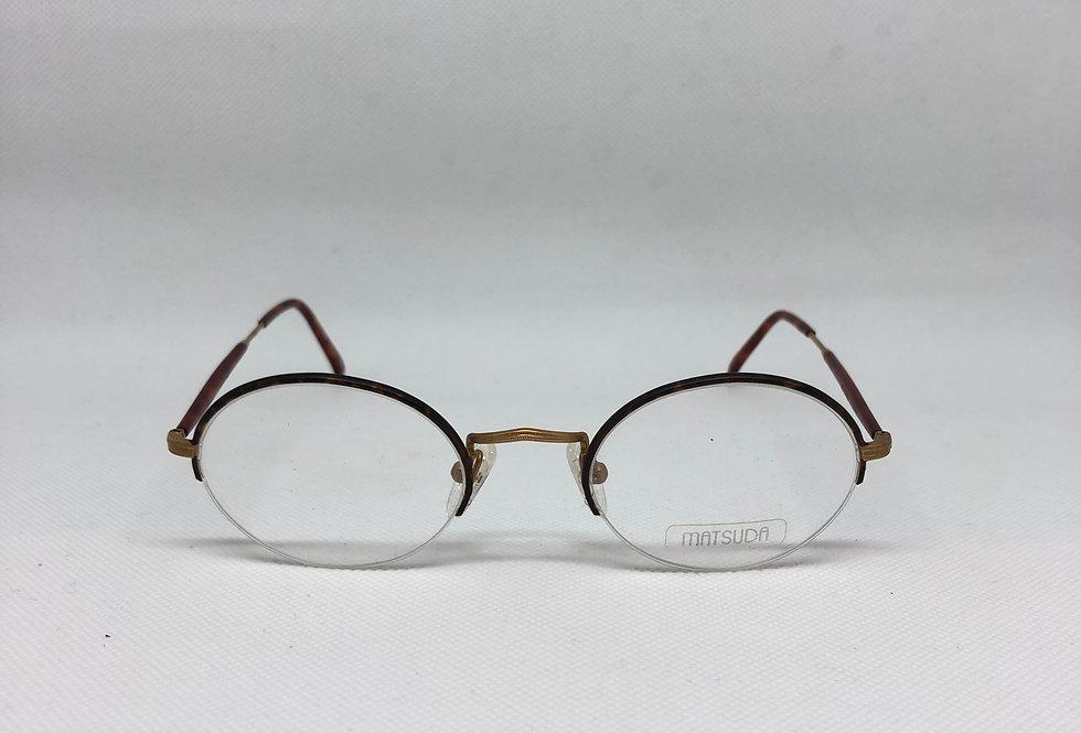 MATSUDA gp-d 2842 49 22 145 vintage glasses DEADSTOCK