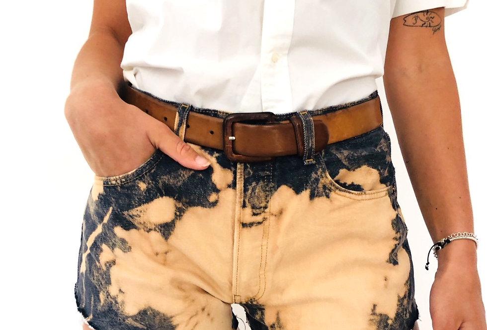 shorts-levis-jeans-denim-tie-dye-vintage