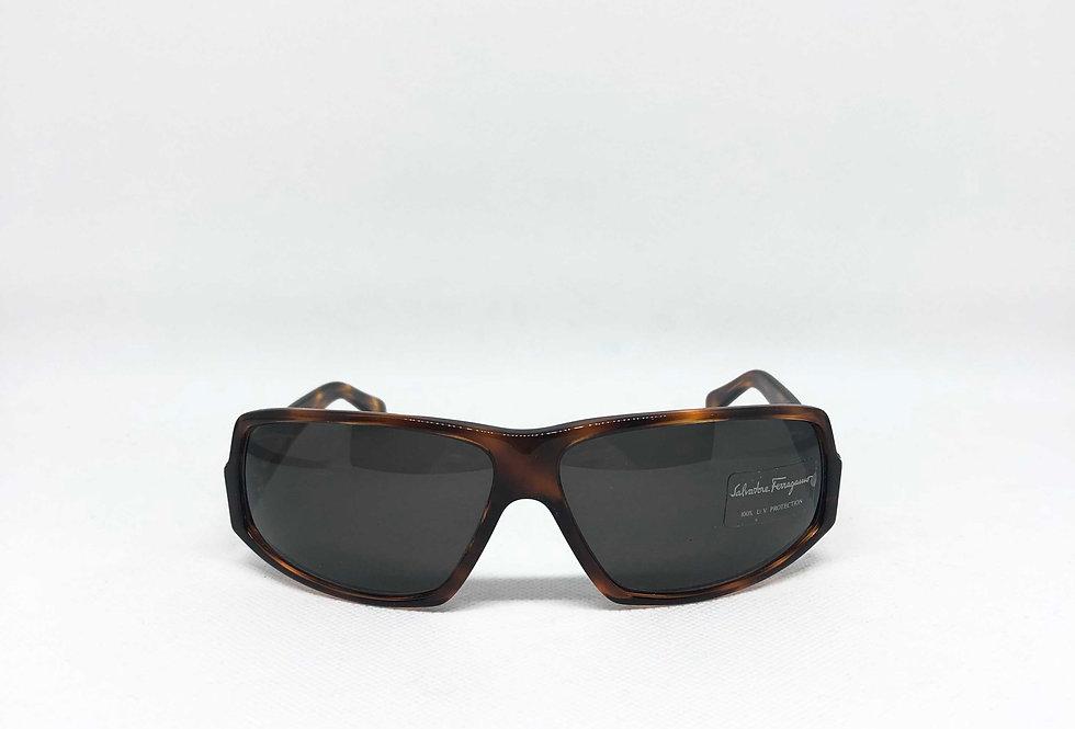 SALVATORE FERRAGAMO 2050 103/3 63.12 130 vintage Sunglasses DEADSTOCK