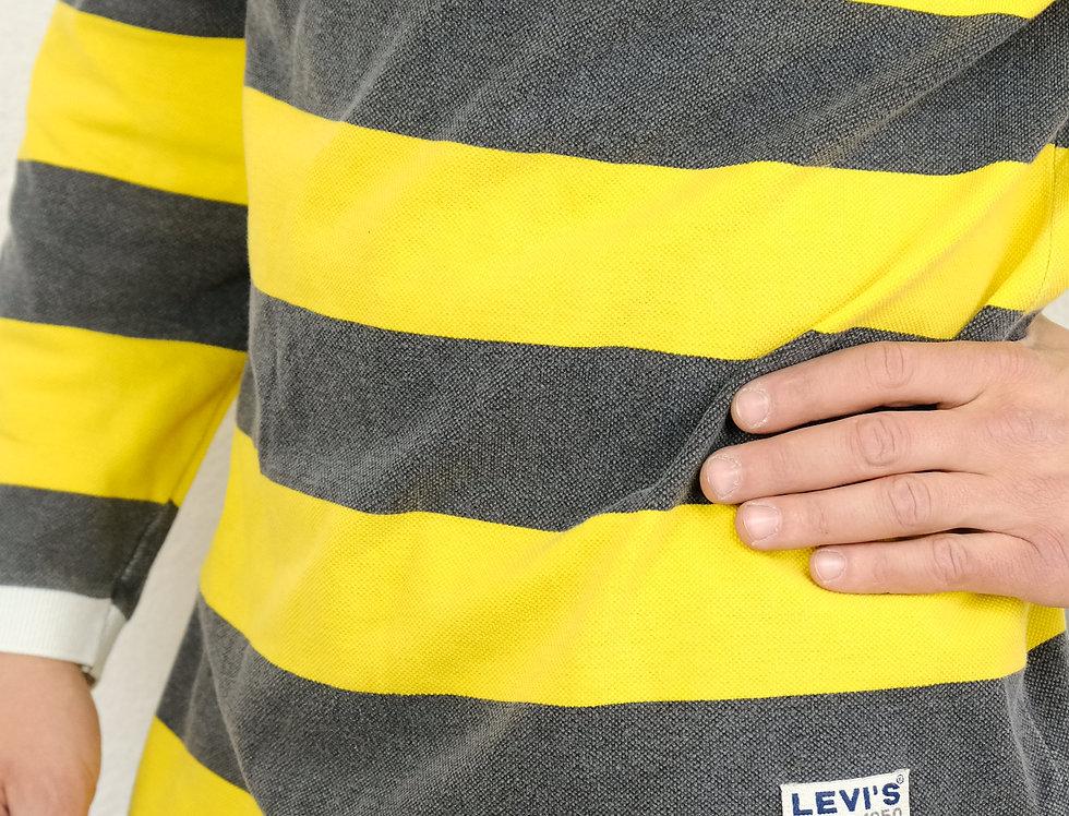 polo-rigata-manica-lunga-levis-vintage