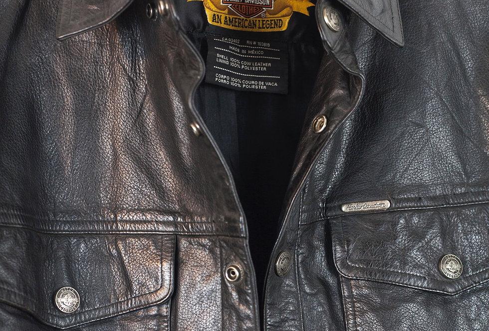 camicia-harley-davidson-vera-pelle-vintage
