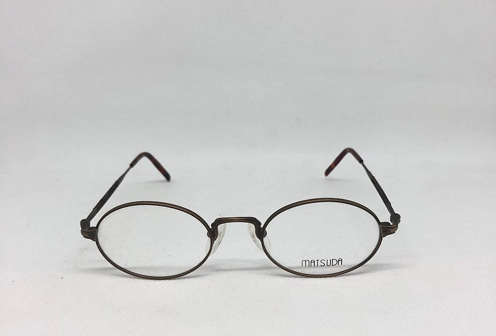 MATSUDA ag 2876 47 20 145 vintage glasses DEADSTOCK