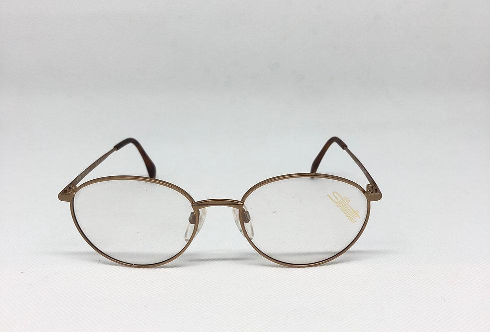 SILHOUETTE  m 6229 /30 v 6050 52 17 135 vintage glasses DEADSTOCK