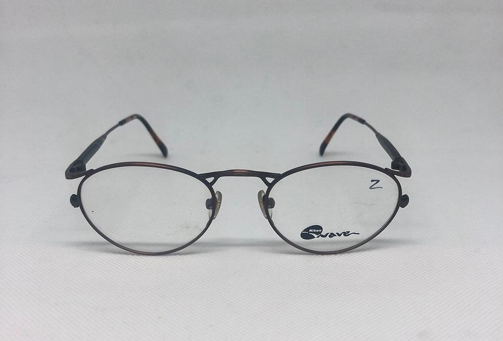 NIKON wave wa 7414 0143 140 vintage glasses DEADSTOCK