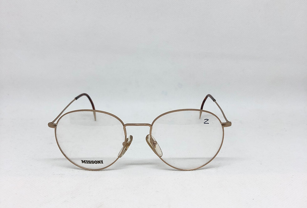 MISSONI 145 m371 67s vintage glasses DEADSTOCK