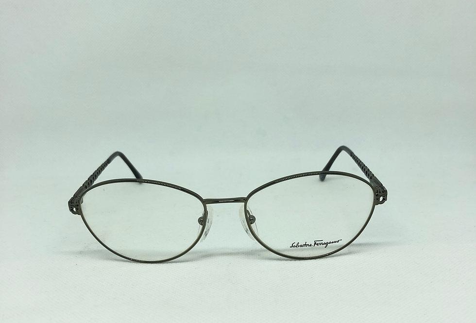 SALVATORE FERRAGAMO 1532 575 56 17 135 vintage glasses DEADSTOCK