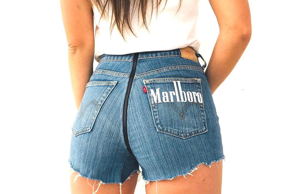 shorts-levis-denim-jeans-total-zip-marlboro-vintage