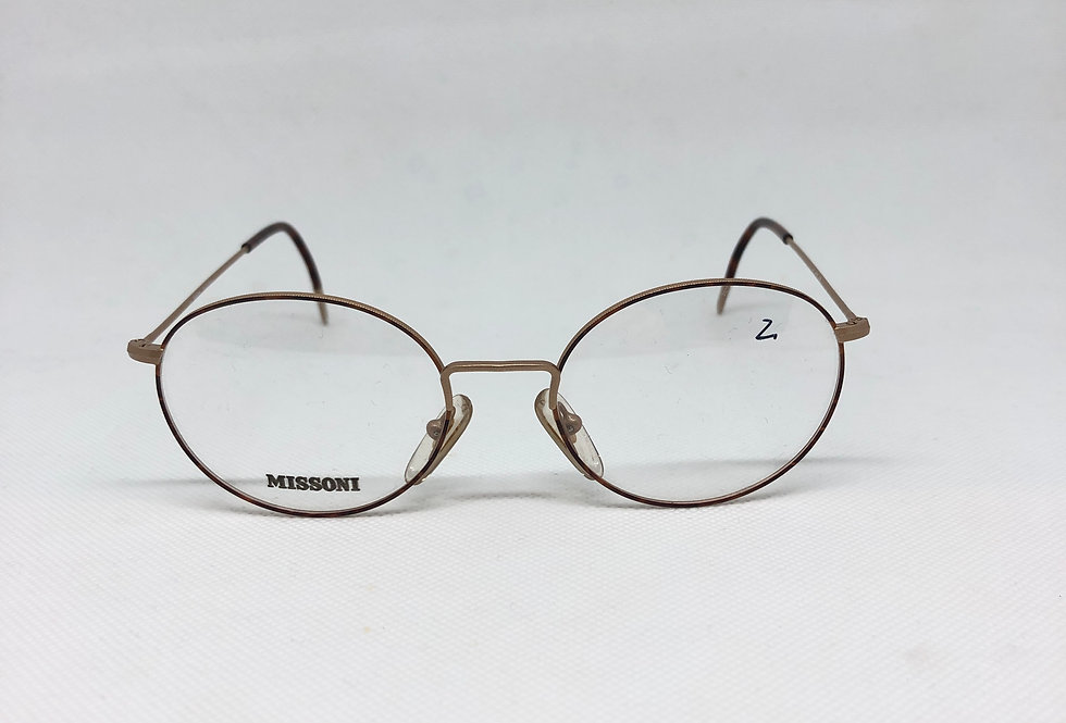 MISSONI m370 ee6 145 vintage glasses DEADSTOCK
