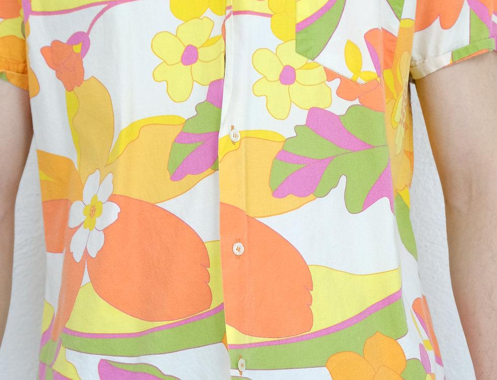 camicia-floreale-anni-80-vintage