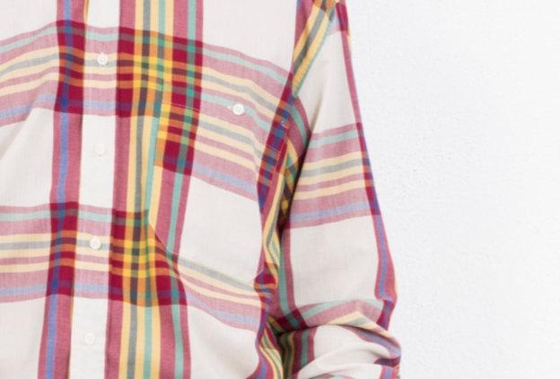 camicia-cotone-quadri-vintage